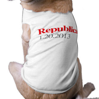 REPUBLICAN 1-20-2013 DOG T SHIRT