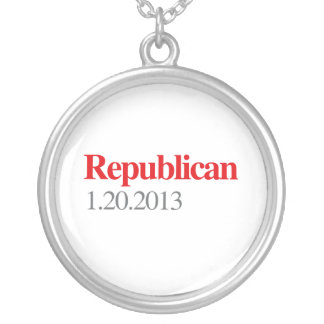 REPUBLICAN 1-20-2013 ROUND PENDANT NECKLACE