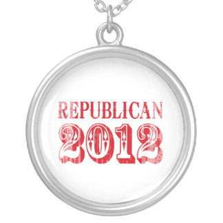 REPUBLICAN 2012 T-SHIRT Faded.png Pendant