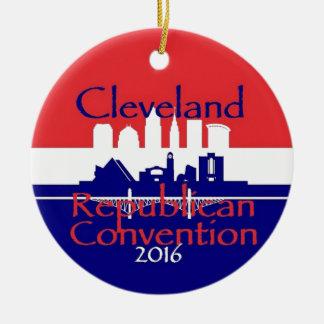 Republican 2016 Convention Christmas Ornament