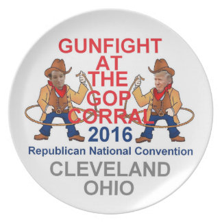 Republican 2016 Convention Plates