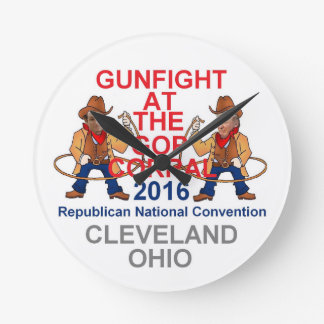 Republican 2016 Convention Round Clock