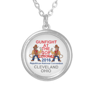 Republican 2016 Convention Round Pendant Necklace