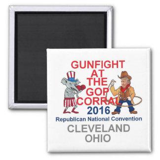 Republican 2016 Convention Square Magnet