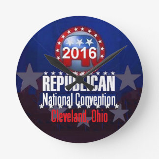 Republican 2016 Convention Wall Clocks