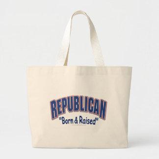 Republican Born & Raised Bag