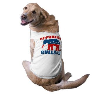 Republican Bulls__t Sleeveless Dog Shirt