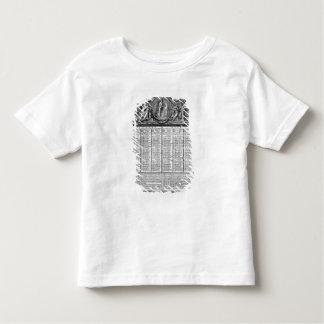 Republican calendar, 22nd September 1793 Toddler T-Shirt