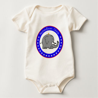 republican chick baby bodysuits