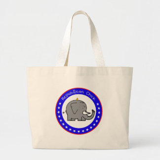 republican chick canvas bags
