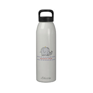 republican chick water bottle