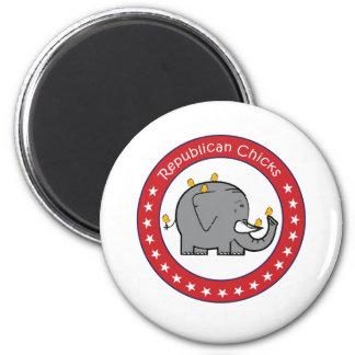 republican chicks refrigerator magnets