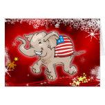 Republican Christmas Greeting Card