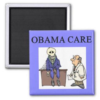 republican conservative anti obama joke square magnet