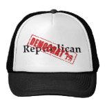 Republican: DEMOCRAT Hats