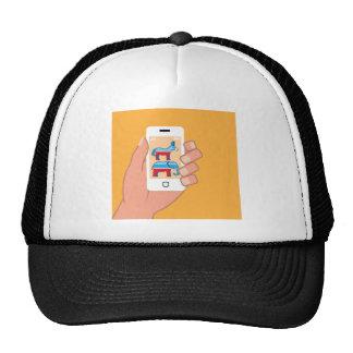 Republican Democrat Smartphone Cap