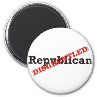 Republican / Disgruntled 6 Cm Round Magnet