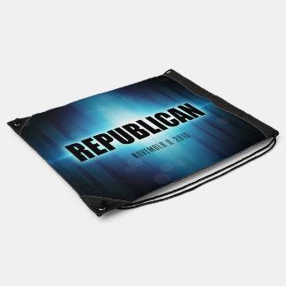 Republican Drawstring Backpacks