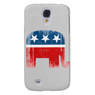 Republican Elephant (2) Faded.png Galaxy S4 Cover