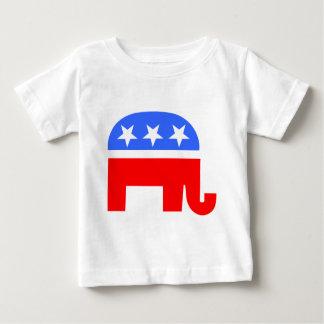 Republican Elephant Baby T-Shirt