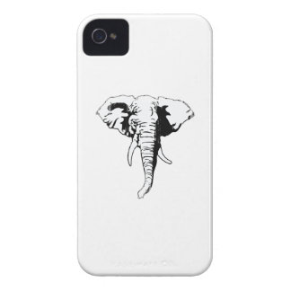REPUBLICAN ELEPHANT Faded.png iPhone 4 Cover