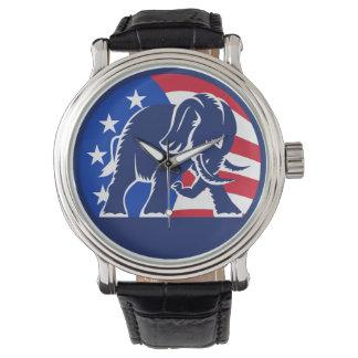 Republican Elephant Flag Watch