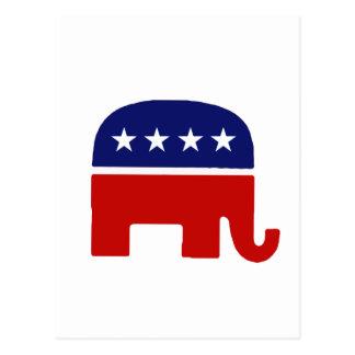 Republican Elephant / GOP Elephant Postcard