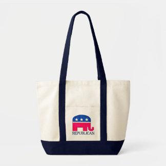 REPUBLICAN ELEPHANT IMPULSE TOTE BAG