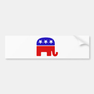 Republican Elephant Logo Bumper Sticker