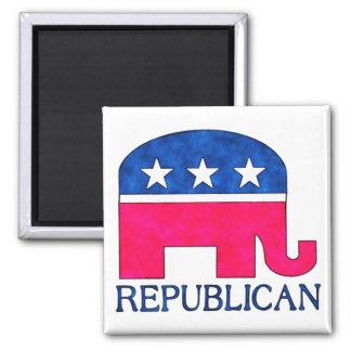REPUBLICAN ELEPHANT REFRIGERATOR MAGNETS
