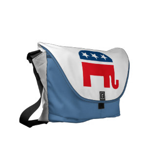 Republican Elephant Messenger Bags