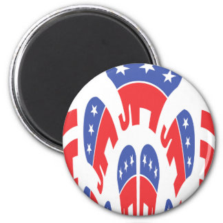 Republican Elephant Party Magnet