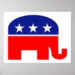 republican elephant poster