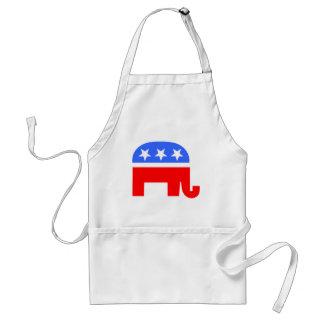 Republican Elephant Standard Apron