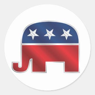 Republican Elephant Sticker
