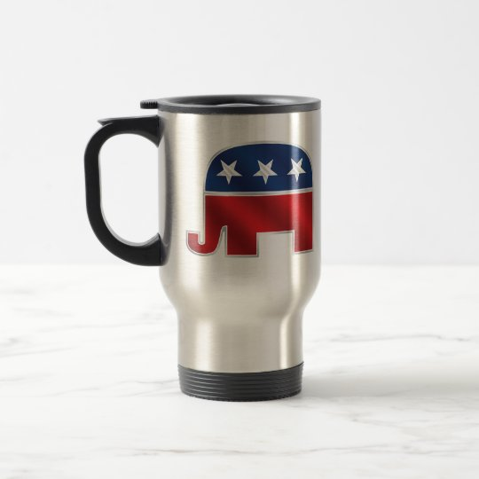 Republican Elephant Travel Mug