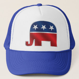 Republican Elephant Trucker Hat
