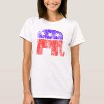 Republican Elephant Vintage T-Shirt