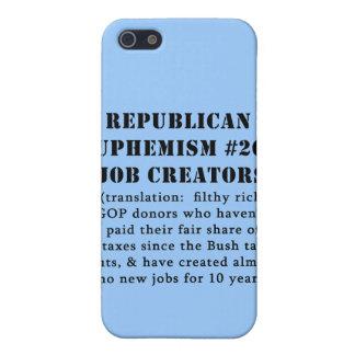 Republican Euphemism Job Creators JOKE iPhone 5 Case