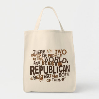 Republican Gift (Funny) Tote Bags