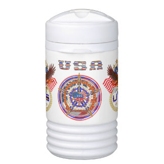 Republican Igloo Beverage Cooler - One Quart