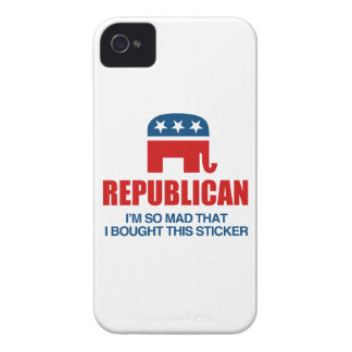 REPUBLICAN - I'M SO MAD I BOUGHT THIS STICKER.png iPhone 4 Covers
