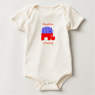 Republican In Training Baby Bodysuit