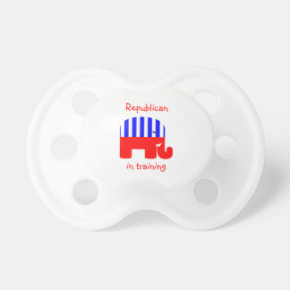 Republican In Training Baby Pacifiers