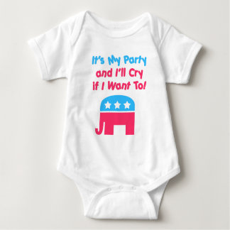 Republican Kid Baby Bodysuit