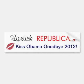 Republican Ladies 2012 Presidential Campaign Bumper Sticker