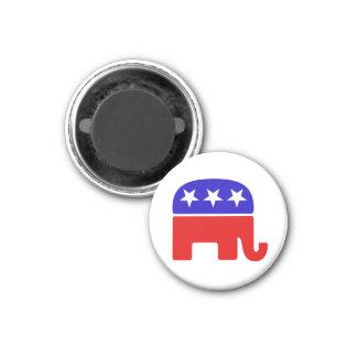Republican Logo 3 Cm Round Magnet