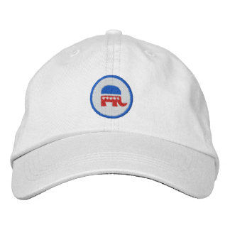 Republican Logo Embroidered Baseball Caps