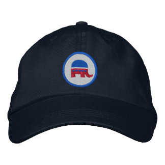 Republican Logo Embroidered Hats