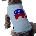 Republican Logo Sleeveless Dog Shirt